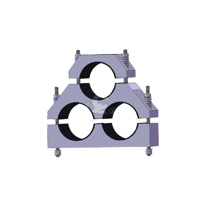 """JGPF型三孔""""品字形""""复合材料系列电缆固定夹"""
