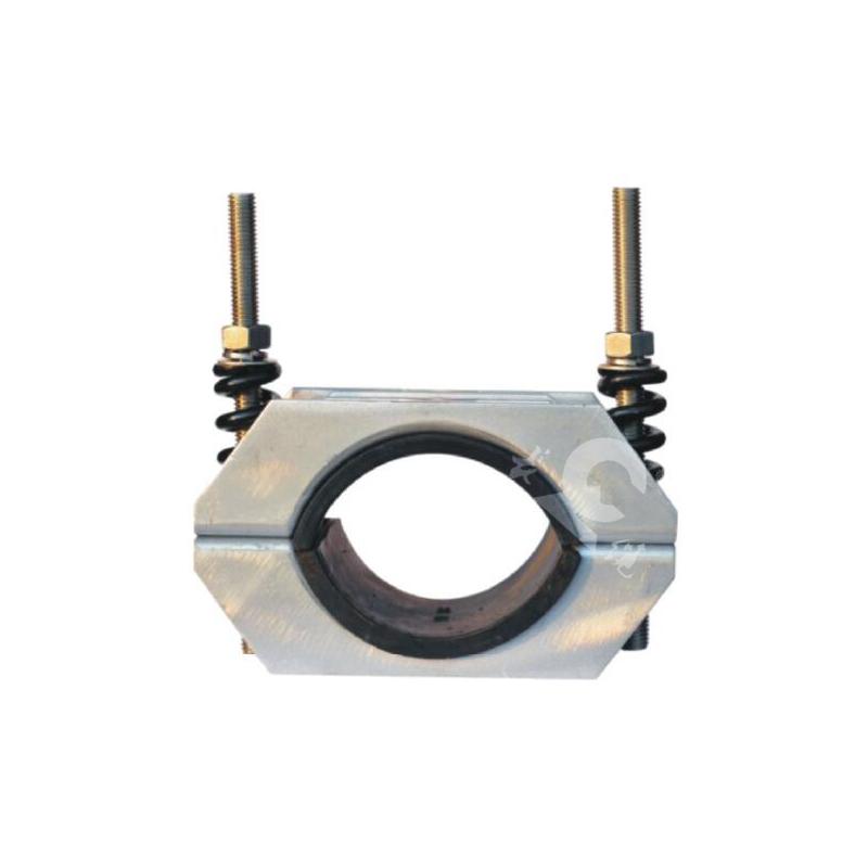 单孔铝合金系列电缆固定夹具